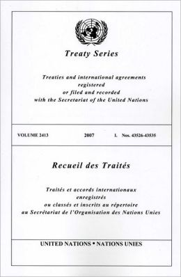 Treaty Series 2413 I