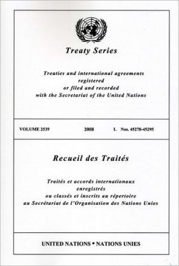 Treaty Series 2539 I