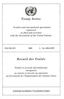 Treaty Series 2571 I 2009: Nos. 45861-45870