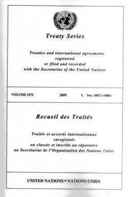 Treaty Series 2572 I: Nos. 45871-45884