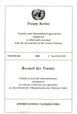 Treaty Series 2644 I: Nos. 47116 - 47129