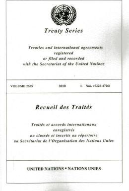 United Nations Treaty Series: Vol.2655,2010