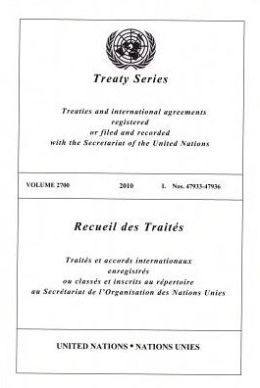 Treaty Series 2700 I