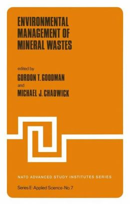 Environmental Management of Mineral Wastes