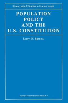 Population Policy and the U.S. Constitution