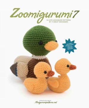 Book Zoomigurumi 7: 15 Cute Amigurumi Patterns by 13 Great Designers