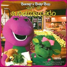 Barney and Baby Bop Van Al Supermercado
