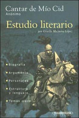 Estudio literario de Cantar de Mío Cid