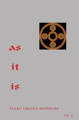 As It Is, Volume II
