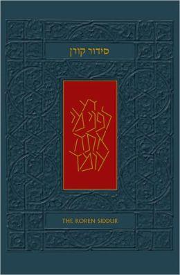 The Koren Sacks Siddur: A Hebrew/English Prayerbook