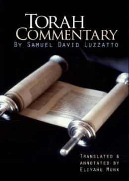 Torah Commentary by Samuel David Luzzatto (4 Vols. )