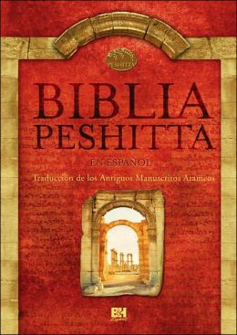 Biblia Peshitta Black Imitation Indexed