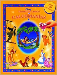 Disney Tesoro de Libros de Calcomanias 5 (Disney Sticker Book Treasury 5)