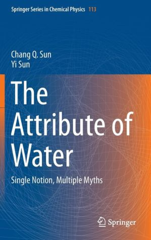 The Attribute of Water: Single Notion, Multiple Myths