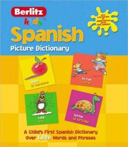 Berlitz Kids Spanish Picture Dictionary