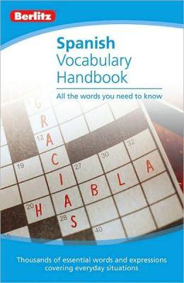 Berlitz Spanish Vocabulary Handbook