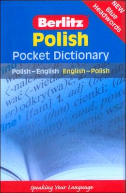 Berlitz Polish Pocket Dictionary