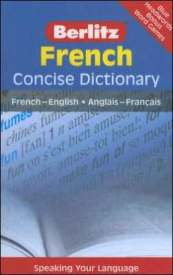 Berlitz French Concise Dictionary