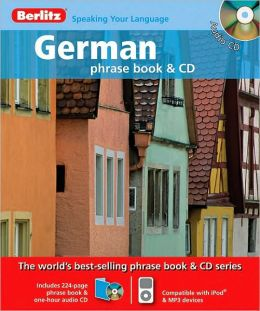 German Phrase Book & CD
