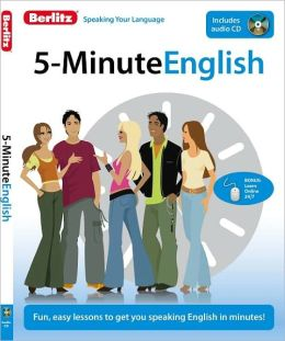 5-Minute English [With CD (Audio)]
