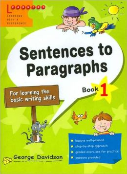 Sentences to Paragraphs 1