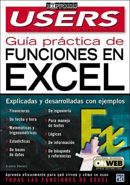 Guia Practica de Funciones de Microsoft Excel XP