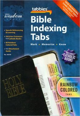 Catholic Old and New Testament Bible Tabs [With Booklet]