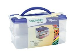 Snap 'n Stack Craft Organizer Medium Rectangle