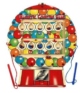 Anatex Enterprises AN-MGB6008 Magnetic Gumball Counting Game