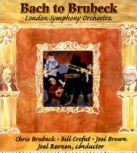 Bach to Brubeck: Bass Trombone Concerto/Blues Suite for Banjo & Orchestra