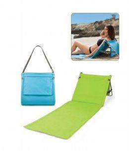 Picnic Time 802-00-125 Beachcomber - Lightweight Aluminum Beach Mat in Blue