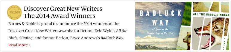Discover Great New Writers - The 2014 Award Winners. Read More.