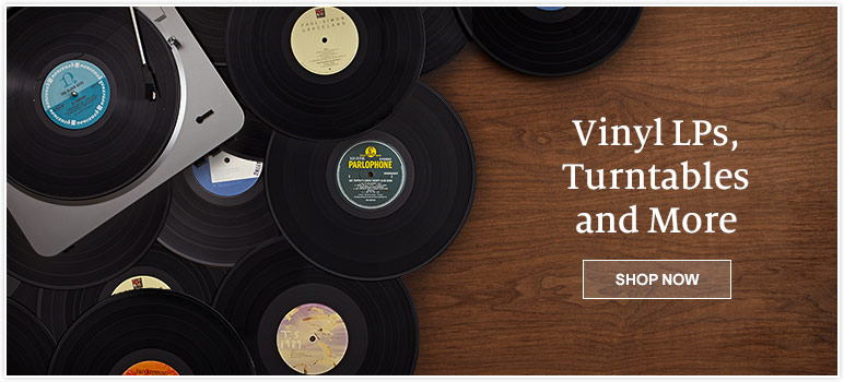 Vinyl LPs, Turntables and More. Shop Now