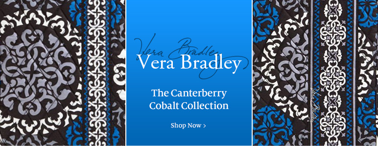 Vera Bradley - The Canterberry Cobalt Collection - Shop Now