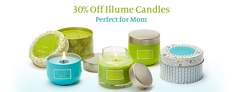 30% Off Illume Candles - Perfect for Mom