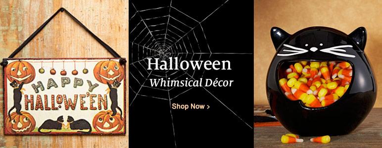Halloween - Whimsical Decor. Shop Now