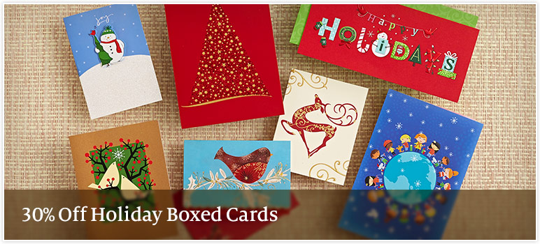 Barnes and noble boxed christmas cards