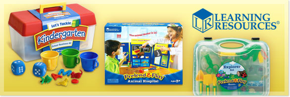Book Cover Image. Title: Pretend and Play Explorer Set, Author:  Learning Resources.