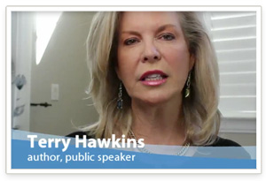 Terry Hawkins - author, public speaker