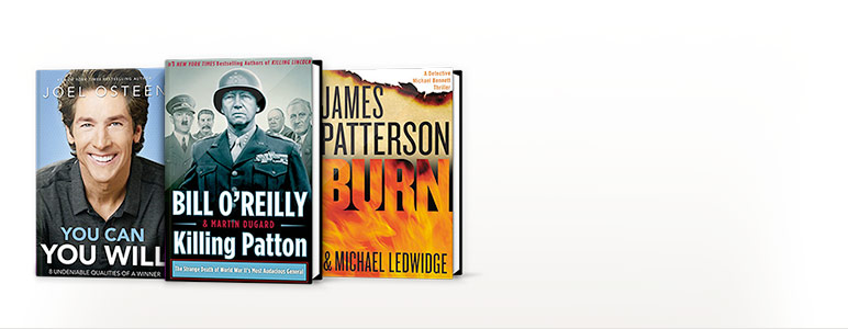 You Can, You Will: 8 Undeniable Qualities of a Winner; Killing Patton: The Strange Death of World War II's Most Audacious General; Burn (Michael Bennett Series #7)