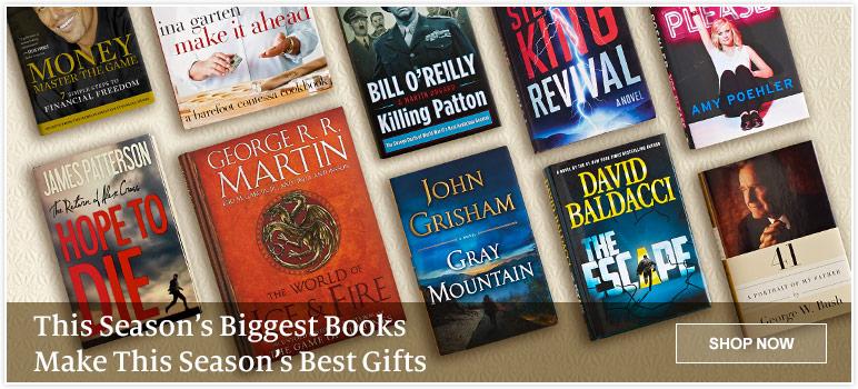 This Season's Biggest Books Make This Season's Best Gifts