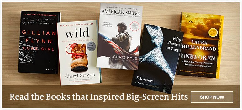 Read the Books that Inspired Big-Screen Hits