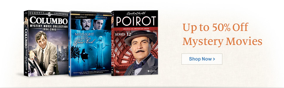 Up to 50% Off Mystery Movies. Shop Now