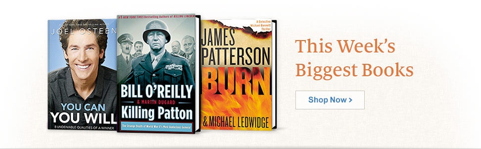 This Week's Biggest Books. Shop Now