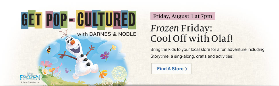 Frozen Friday: Cool Off with Olaf!