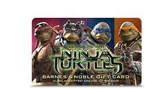 Gift Card - Teenage Mutant Ninja Turtles