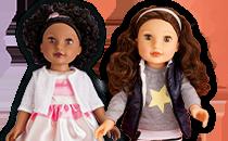 Marnie 18'' espari Doll; Lily Ria 18'' espari Doll