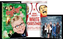 A Christmas Story; White Christmas; Pentatonix