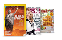 National Geographic; InStyle; Southern Living