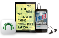 NOOK Audiobooks - Samsung Galaxy Tab(R) 4 NOOK(R), The Girl With the Dragon Tattoo, NYPD Red